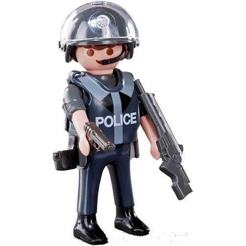 playmobil serie 5 n6 le policier delite playmobil - Policier Playmobil