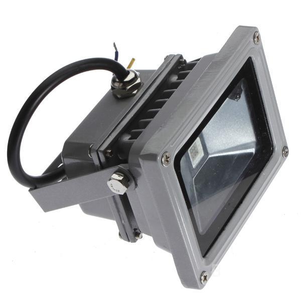 2X10W Projecteur RGB LED 10W Spotlight Multicolore Télécommande