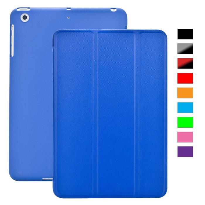 Coque iPad MINI 3/2/1 Retina BLEU FONCE Achat / Vente coque