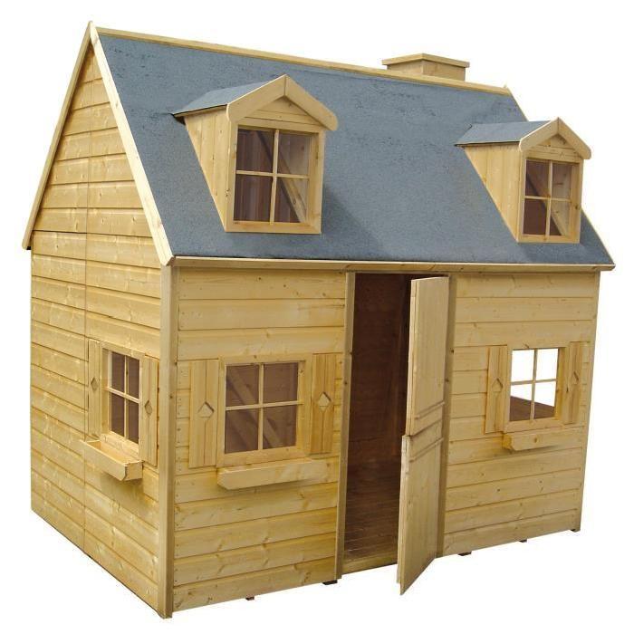 248x160x240 cm Achat / Vente maisonnette extérieure