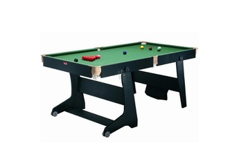 TT 1 Table de billard pliable convertible ping pong fléchettes Riley