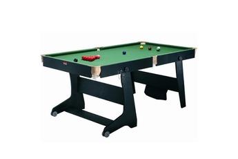 TT 1 Table de billard pliable convertible ping pong fléchettes Riley