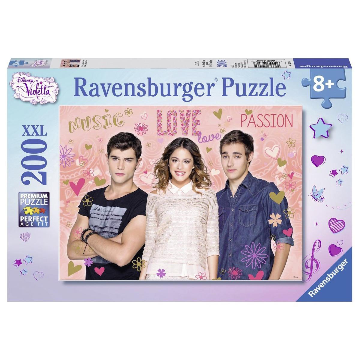 Puzzle 200 pièces Violetta, Tomas & Léon
