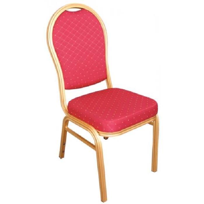Rouge Dossier Arrondi Achat Vente Chaise