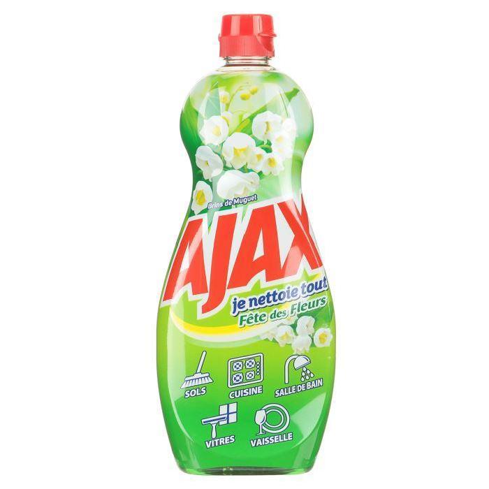ajax gel nettoyant brin de muguet 750ml Achat / Vente nettoyage