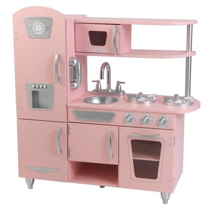 KIDKRAFT Cuisine Enfant Vintage Rose Achat / Vente dinette cuisine