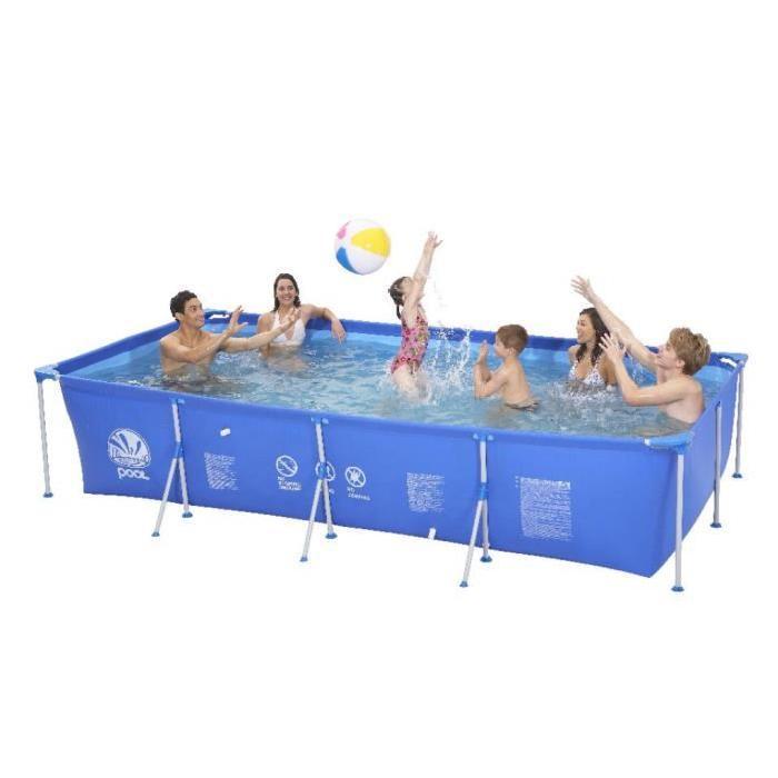 Piscine rectangulaire avec armature acier Achat / Vente kit piscine