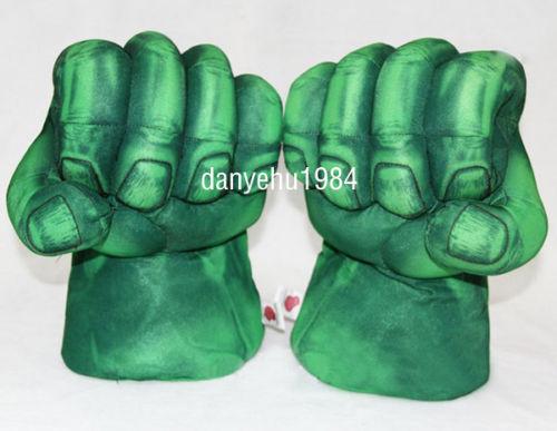 de 2 incroyable Hulk Smash mains Peluche Punching Poings Gants Cosplay