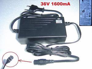 Chargeur Batteries Quad Vélo Trottinette Moto 36V 1,6A