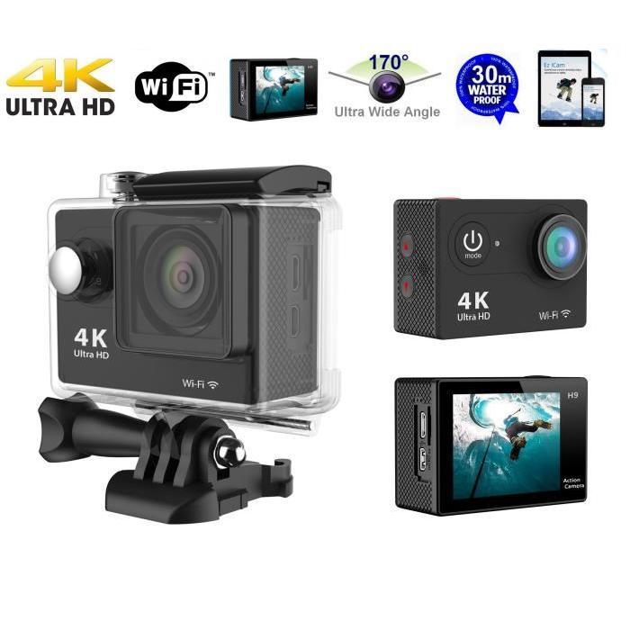 CAMERA SPORT 4K ULTRA HD WIFI TELECOMMANDE Achat / Vente caméra