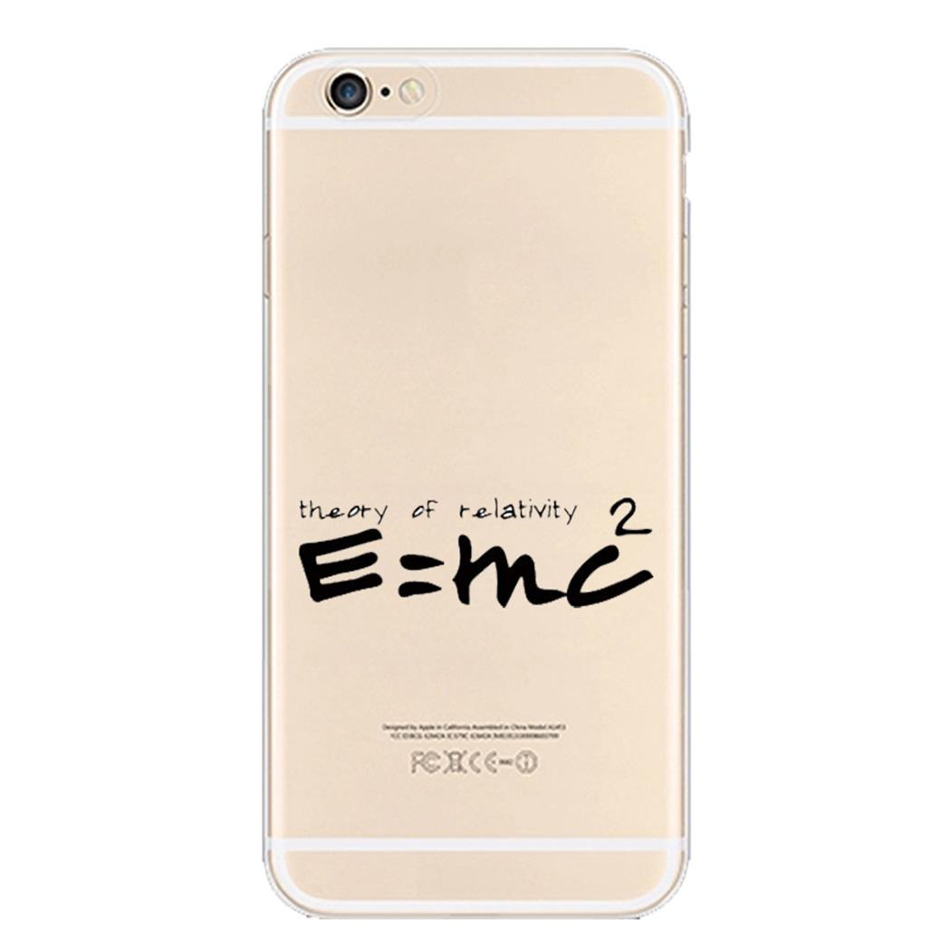 iPhone 6 6S Plus Motif souple cover clair Silicone transparent coque