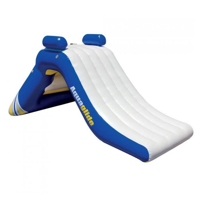 Piscine gonflable avec toboggan topiwall for Piscine a balle pas cher