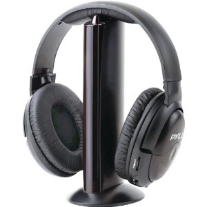 Casque audio sans fil Pyle professionnel 5 en 1.: High tech