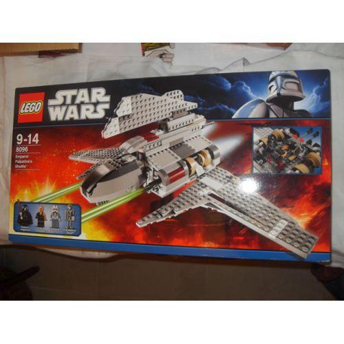 Lego Star Wars 8096 Le Vaisseau De L'empereur Palpatine Lego