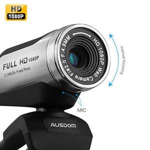 Ausdom usb full hd 12 0 m Webcam Web Cam Camera w Microphone pour