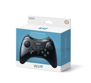 Officiel Nintendo Wii U Pro Sans fil Manette De Jeu Pour