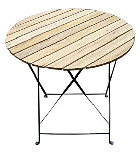 Table de jardin pliante ronde topiwall for Table jardin metal ronde pliante