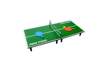 Autres jeux créatifs Table de Mini Ping Pong 90cm Vert Paris Prix