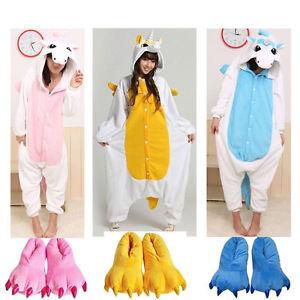 Kigurumi Cosplay Costume d 039 animal Grenouillere nuit Licorne Free