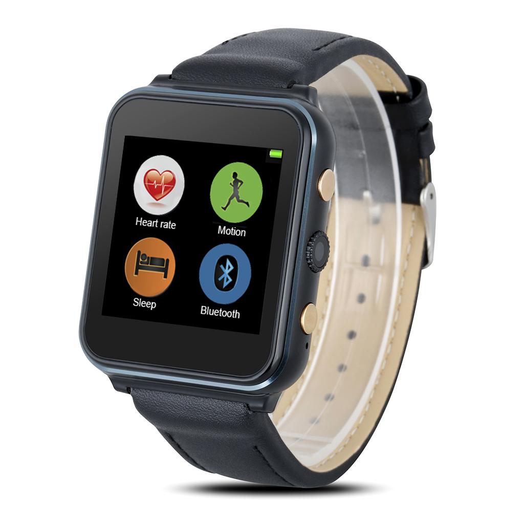 connectée avec caméra GSM Phone Watch pour Android IOS Noir