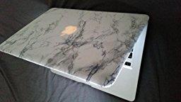 Coque pour MacBook Air 13 Marble Blanc Housse: High tech