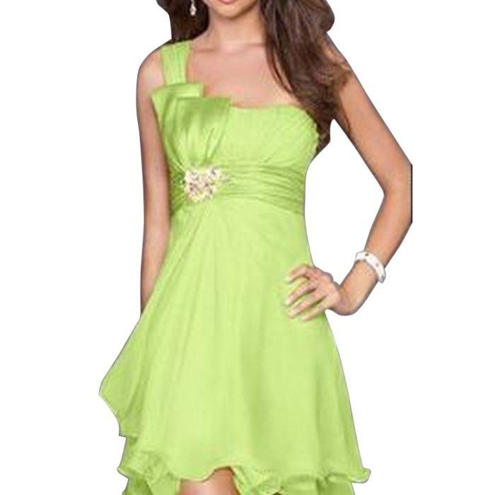 Robes de soirée, cocktail agréab? vert Achat / Vente robe Robes