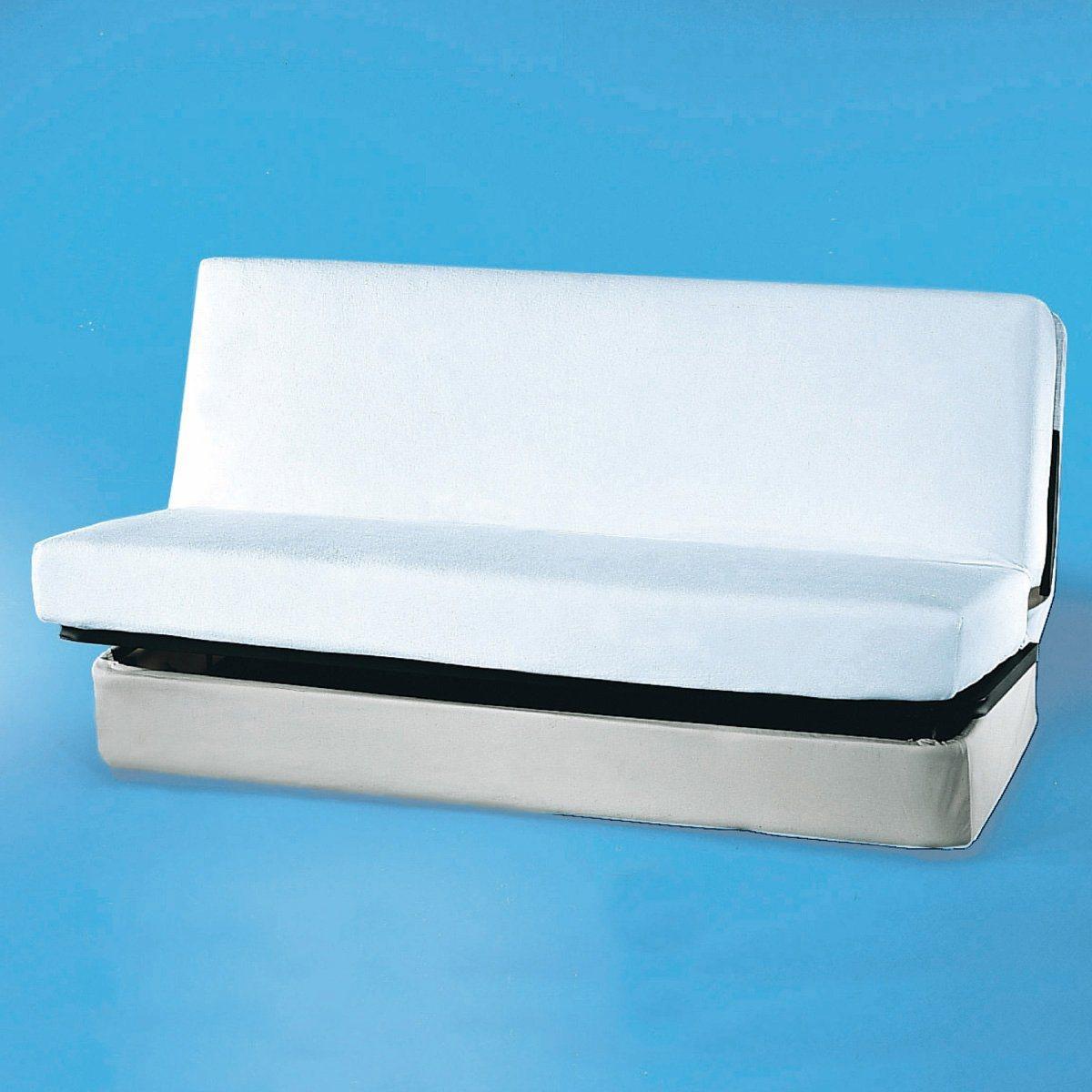 Protège matelas clic clac, éponge enduite polyuréthane imperméable