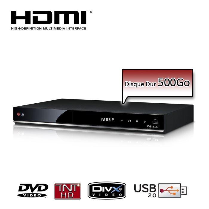LG RH735T Lecteur DVD Enregistreur TNT HD