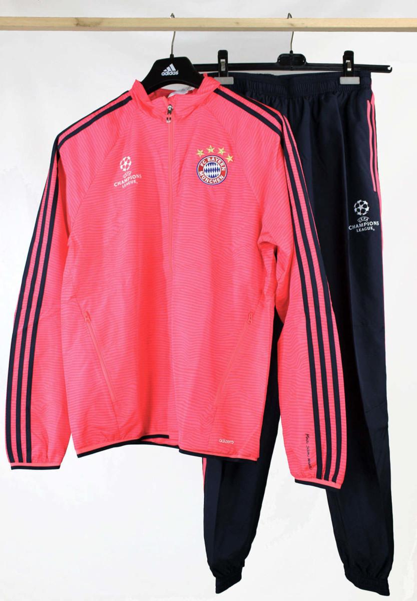 sur Uefa Bayern Munchen Adidas Survetement Presentation 2015 16 Homme