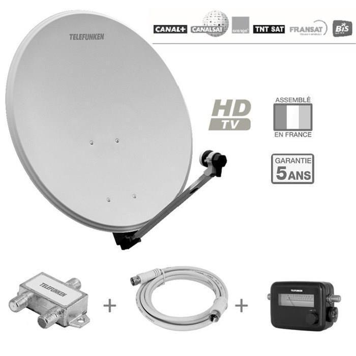 TELEFUNKEN T S802TV Antenne extérieure pack réception Sat 2 TV