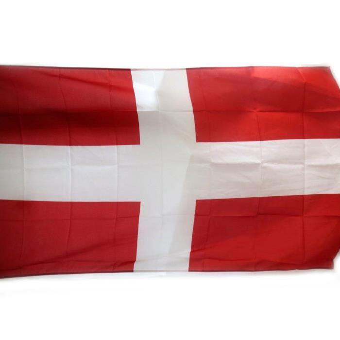 Drapeau «Savoie» rouge blanc (90×150 cm) Un clin d'oeil à &la ...