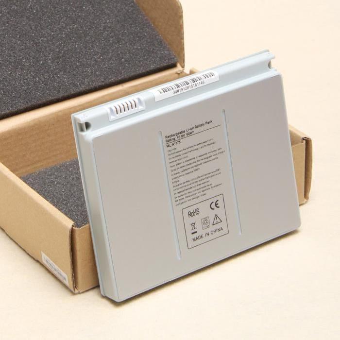 Batterie MACBOOK PRO 15″ A1175 Prix pas cher