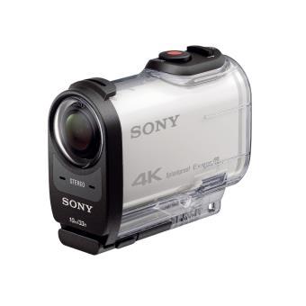 Action Cam Sony FDR X1000VR 4K Blanc Caméscope à carte mémoire