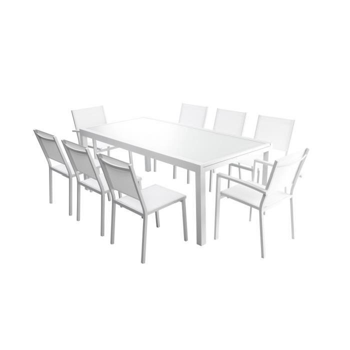 Table de jardin extensible avec chaises - TopiWall