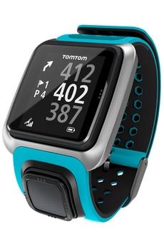 montre connectée tomtom golfer bleu en stock montre conçue
