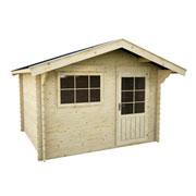 en bois askola ep 28 mm 7 17 m² l abri de jardin en bois askola saura