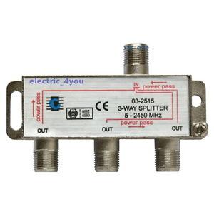 voies 5 2400MHz Sorties Antenne TNT TV SAT Direction Splitter