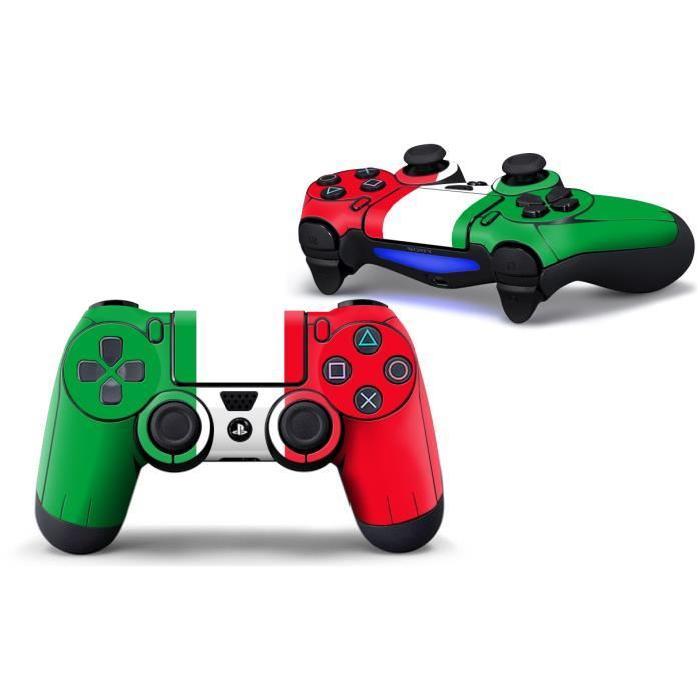 Stickers de protection pour manettes Playstation 4 Sony PS4 set de 2