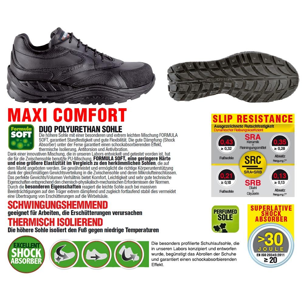 COFRA WEAL S3 Chaussures de travail ORTHOPÉDIQUE Haute qualité