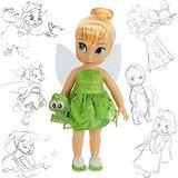 Disney poupée Clochette Tinkerbell 40cm animators Collectionneurs