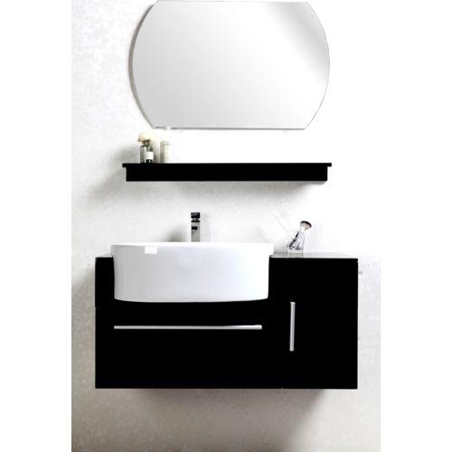 miroir Noir 71.5x35x56 pas cher Achat / Vente Meubles de salle de