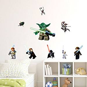 STICKERS AUTOCOLLANT MURALE GEANT DECORATION CHAMBRE STAR WARS