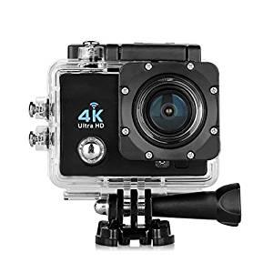 Excelvan Caméra de Sport Embarquée Q6, Full HD, 4K, 170 degrés HD