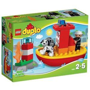 LEGO DUPLO 10591 Le Bateau des Pompiers Lego Duplo Ville Porte