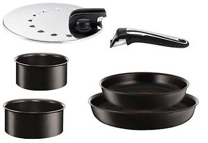 Tefal Ingenio Talent Starter Set 6 Pièces Induction Noir L3209702