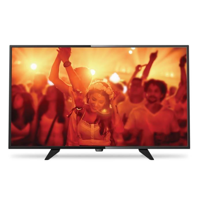 TV LED HD 80cm (32″) Ecran UltraSlim Noir téléviseur led