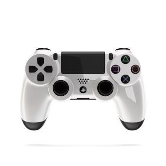 Manette PS4 Coton Manette PS4 Blanc sur Jeux vidéo Achat & prix