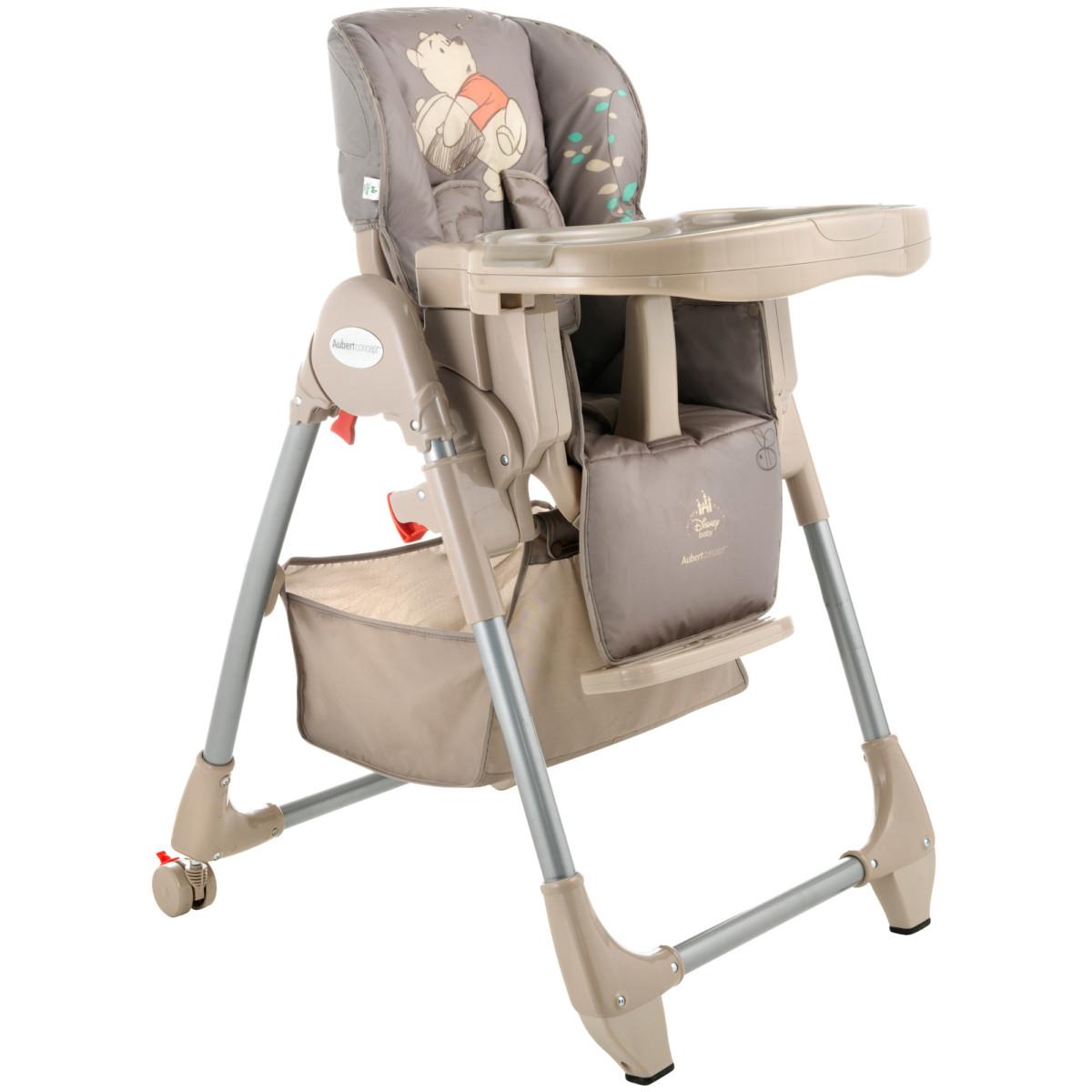 Chaise haute multipositions de Aubert concept, Chaises hautes