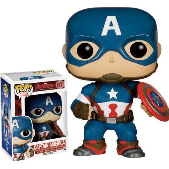 Figurine Funko Pop Marvel Avengers 2 Captain America 9 cm Autres