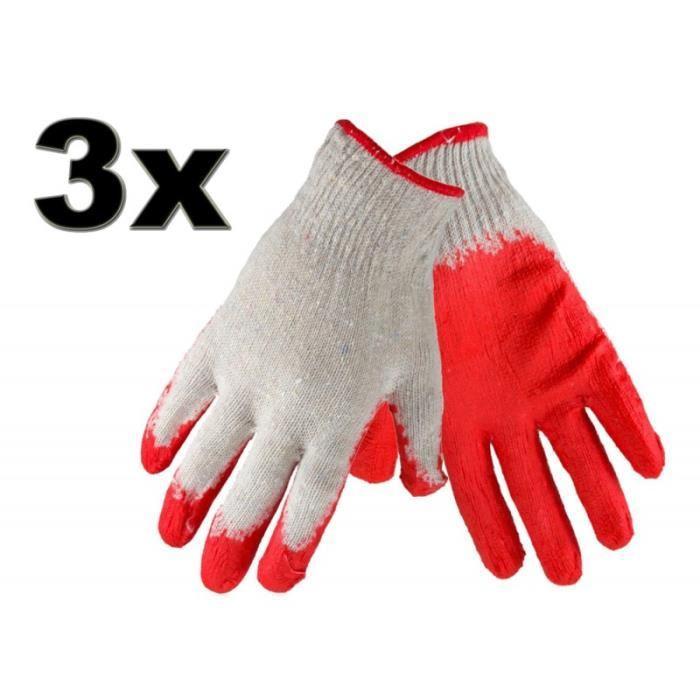 de gants de coton pour le jardinage Achat / Vente gant de jardinage